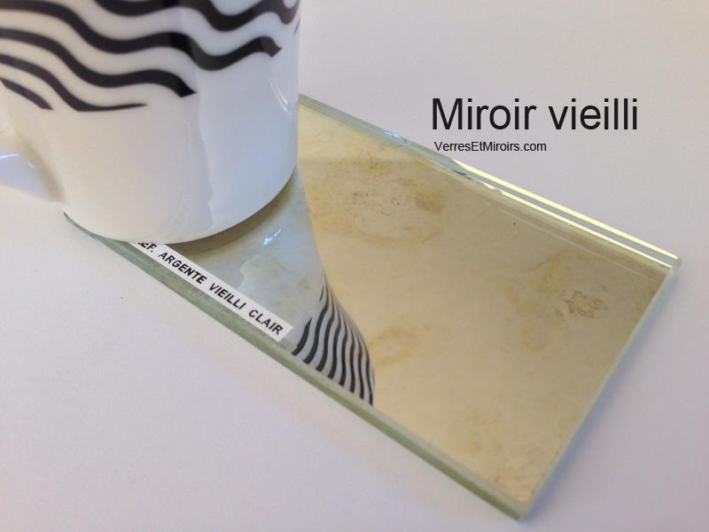 Miroir vieilli et miroir ancien sur mesure livraison for Miroir paris