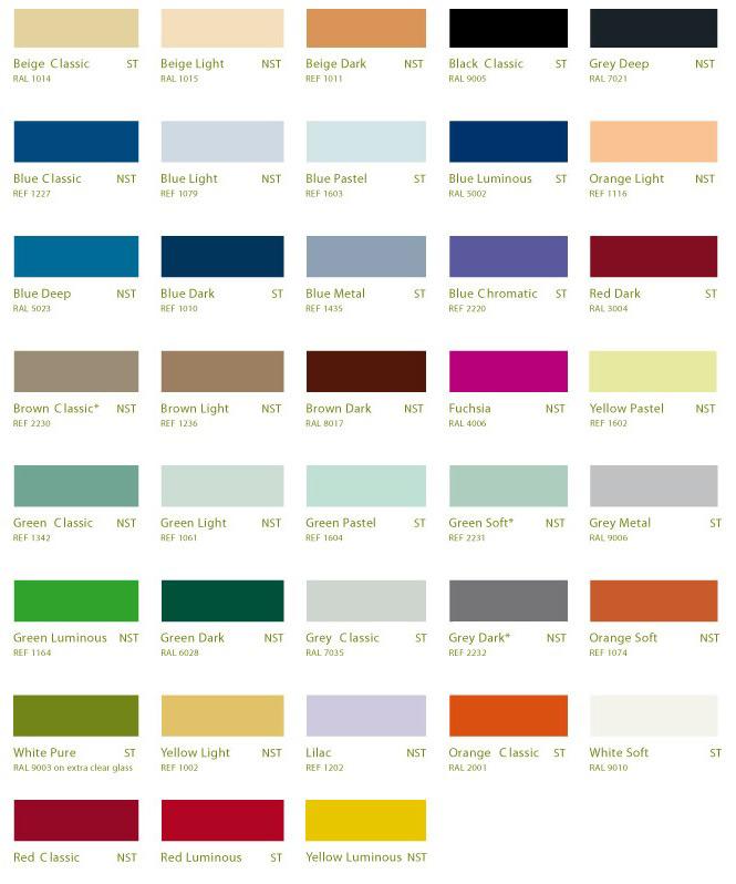 lacobel nuancier couleur. Black Bedroom Furniture Sets. Home Design Ideas