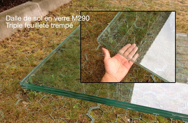 Puit de lumi re, plancher de verre et verre en toiture ...