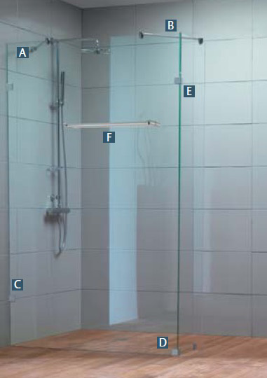 Configuration et conception de douche l 39 italienne sur for Exemple de douche italienne