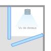 configuration et conception de douche l 39 italienne sur mesure livraison a domicile sur paris. Black Bedroom Furniture Sets. Home Design Ideas
