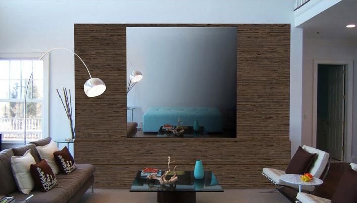 T l vision miroir haut de gamme for Miroir tv samsung