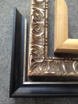 Miroir encadr sur mesure et cadre pour miroir for Miroir encadre