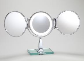 Miroirs brot paris miroirs grossissants prestige for Miroir trois faces salle de bain