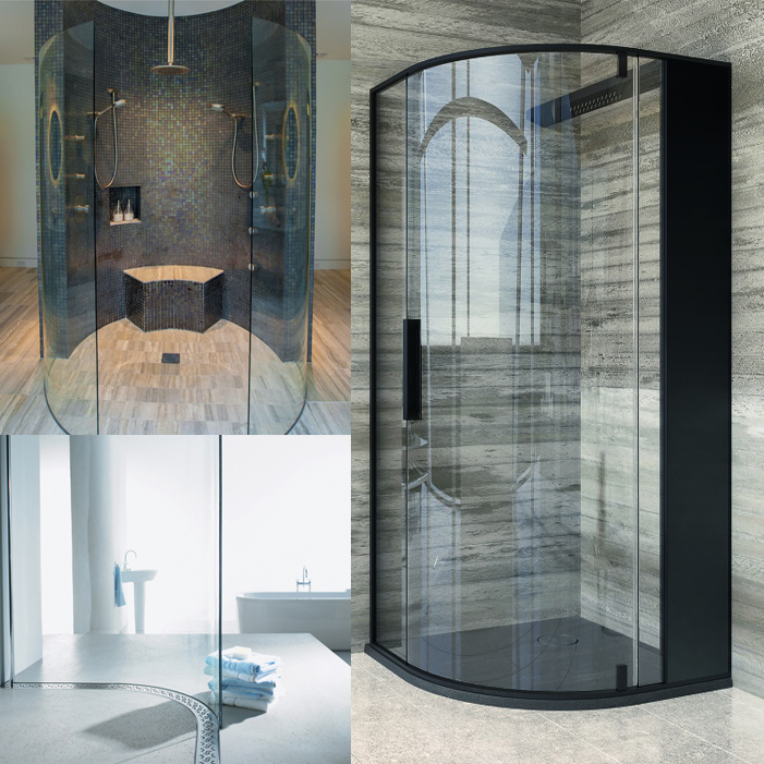 paroi de douche courbe great barre de renfort paroi de douche inspirant barre de renfort courbe. Black Bedroom Furniture Sets. Home Design Ideas