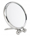 Miroir grossissant x9 de voyage Marquise 15cm nickel