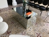 Table basse miroir cube 500x700x1000mm