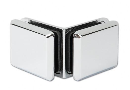 patte de fixation chrom d 39 angle 90 verre verre ref bohle bo5200097 bohle. Black Bedroom Furniture Sets. Home Design Ideas