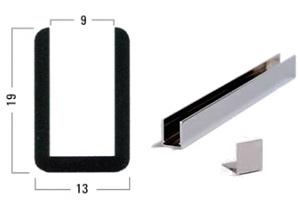 profil u aspect inox 2500mm ref bohle bo6703419 bohle. Black Bedroom Furniture Sets. Home Design Ideas