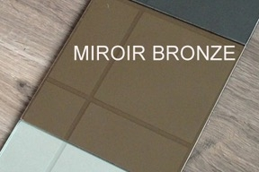 photo info Miroir bronze 6mm 200x300mm AA
