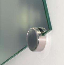 Patte de fixation ronde pour miroir 6mm ref fix8235 lmc - Fixation miroir salle de bain ...