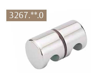 bouton poign e blanc laqu 9010 pour porte de douche ref str 3267 51 0 stremler. Black Bedroom Furniture Sets. Home Design Ideas